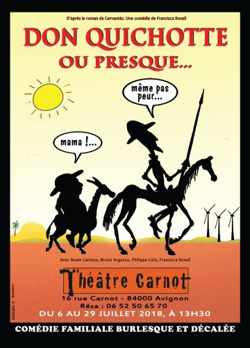 Don Quichotte... ou Presque - Affiche